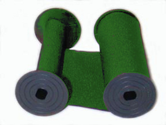 Simplex 607-589 Green Cotton Ribbon