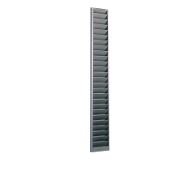 170 Swipe Card/Badge Rack (25-Pocket, Steel)